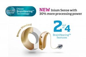 Oticon Ria2 bronze hearing aids Sydney Campbelltown